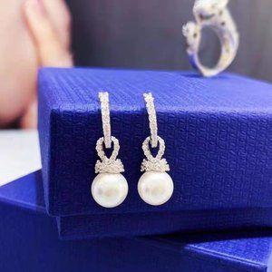 Swarovski Originally Pierced Earrings
